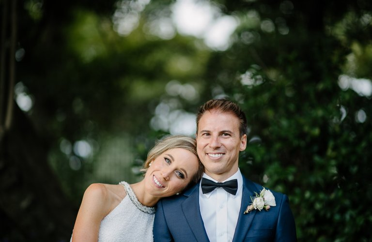 Ashlee & Thiago's lush green wedding at The Terrace, Royal Botanic Gardens