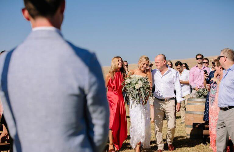 Gabi & Zio's beachy wedding at Clifftop Phillip Island