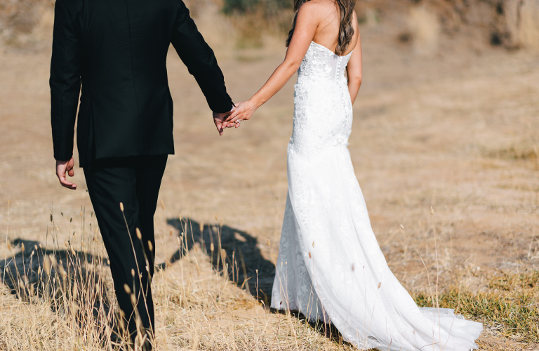 Katanya & Piers's bohemian luxe wedding at Terinda Estate, Bellarine