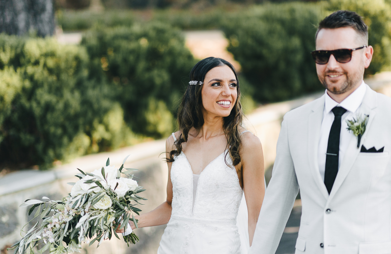 Kathy & Michael's European inspired wedding at Farm Vigano in South Morang