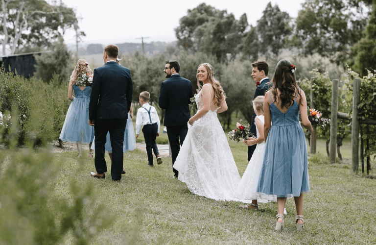 Jasmine & Ben's winery wedding at Brandy Creek Winery, Drouin