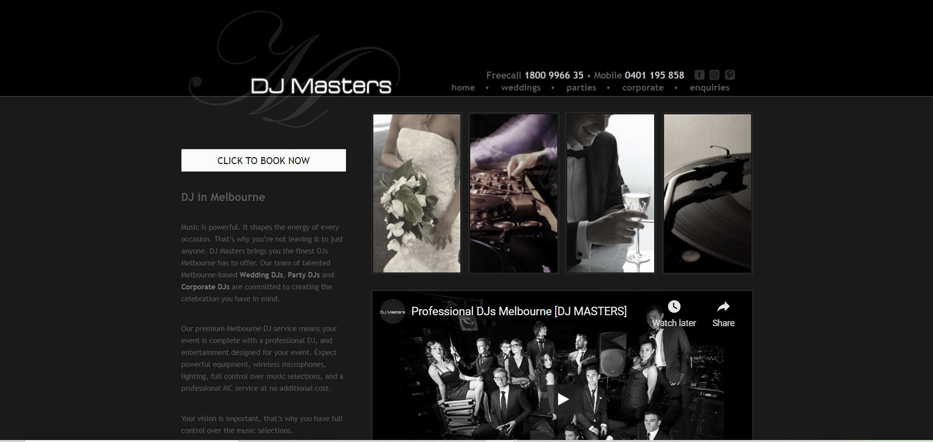 Top 30 Wedding DJ & MC in Melbourne, Victoria [2021]