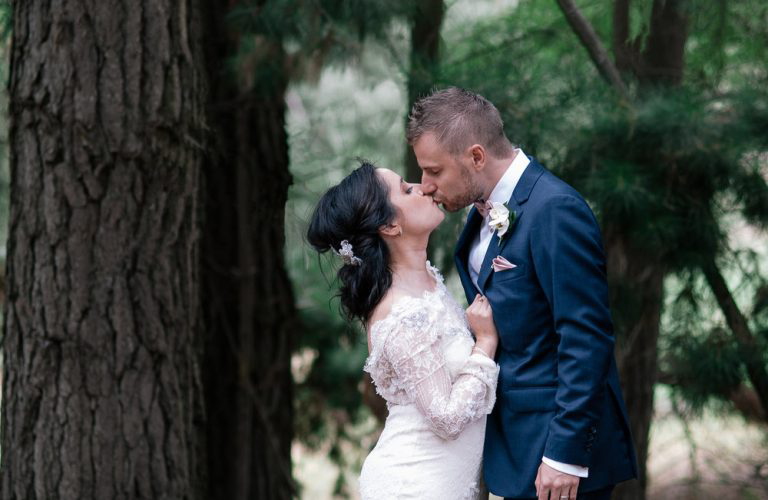 Nicole & Michael's bohemian luxe wedding at Lindenderry, Red Hill