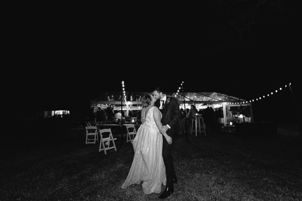 How do you shoot a wedding in low light?