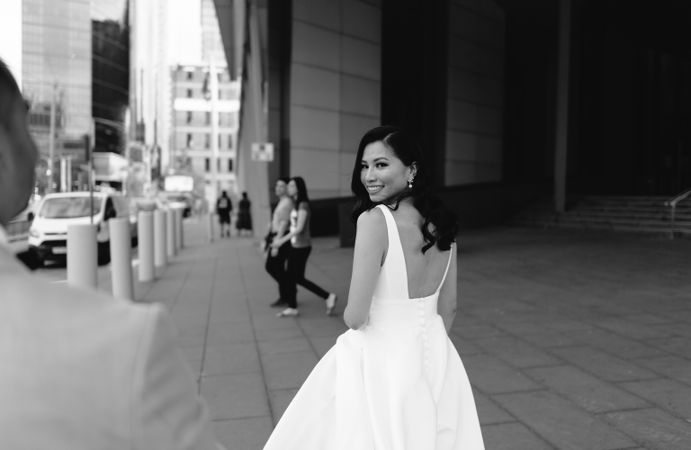 Suzie & Rahul's modern luxe Crown Aviary wedding  by Wild Romantic Photography Melbourne