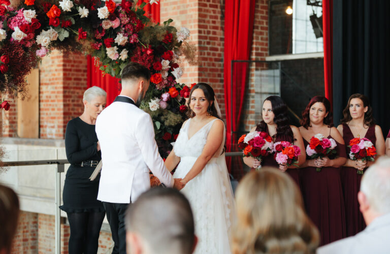 Lilli & Ryan's old world charm wedding at The Substation Newport