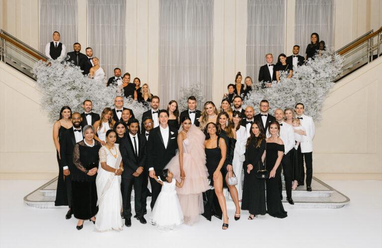 Vydia & Sam's Gatsby-inspired stylish wedding at Myer Mural Hall