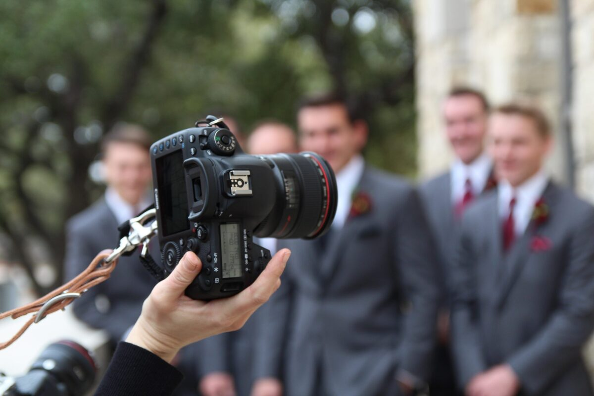 Do you need a photographer and videographer for a wedding?
